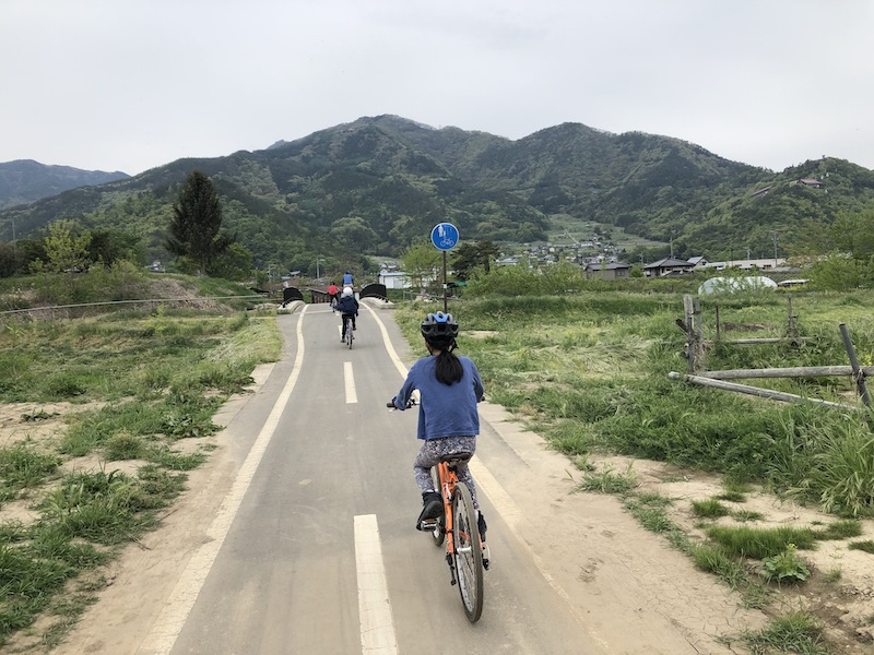 上田亀清自転車