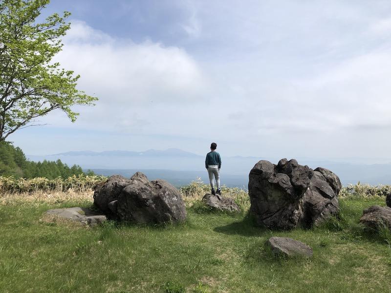 コロナと信州山登り